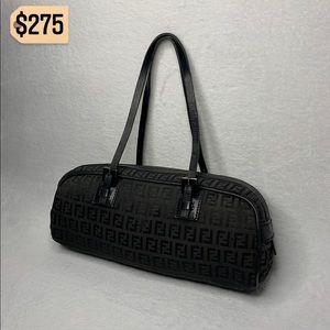 ✨✨✨✨SOLD✨✨✨✨Fendi Black Pochette Shoulder Bag